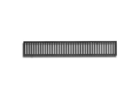 Grelha reforçada de ferro fundido de 1x0,15 na COFERSED