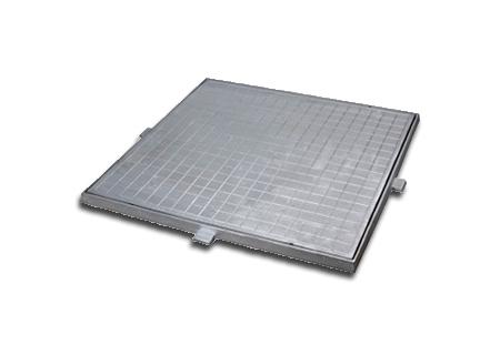 Tampões de cisterna em alumínio da COFERSED