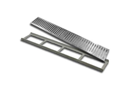 Grelhas de alumínio em diversos tamanhos na COFERSED
