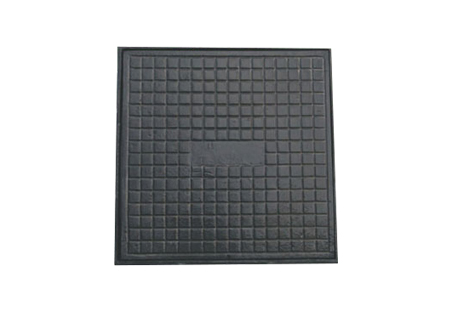 Tampão quadrado de 60x60 em ferro fundido na COFERSED