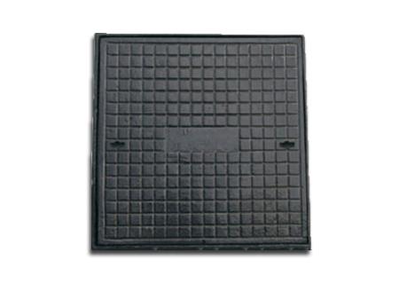 Tampão quadrado de 70x70 em ferro fundido na COFERSED