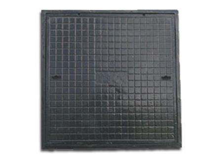 Tampão quadrado de 80x80 em ferro fundido na COFERSED