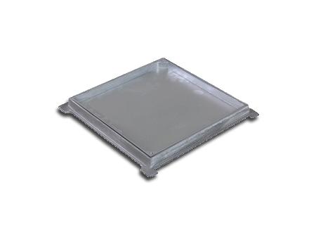 Tampões quadrados com rebaixo na COFERSED